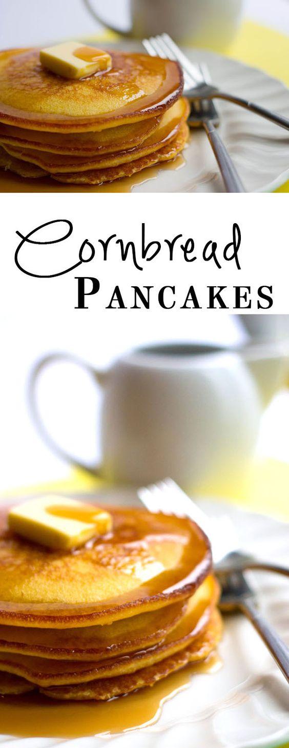 Cornbread pancakes - Erren's Kitchen