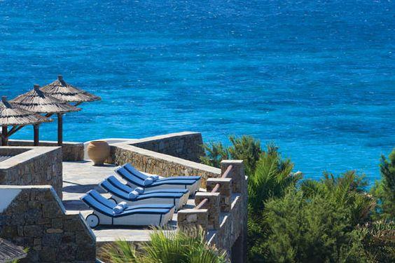 Playa de las Cícladas Luxury Resort: El Cielo en la Isla de Mykonos