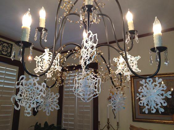 my chandelier is a little prettier today