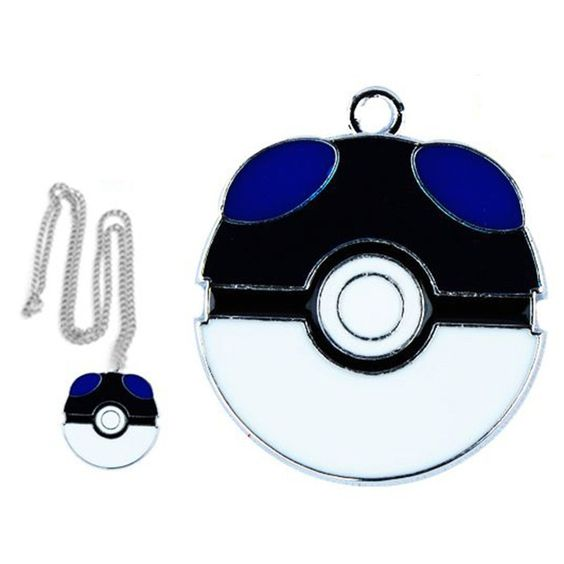 PokeBall Master - Necklace Pendant Unisex Chain Ash Ketchum
