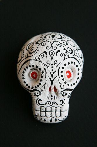wir basteln Dekoration für den Mexiko-Abend