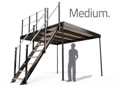 Medium Kragarmtreppe Raumaufteilung Treppenpodest