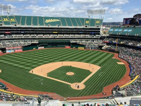Oakland Alameda County Coliseum Mlb Stadiums Alameda County Baseball Field