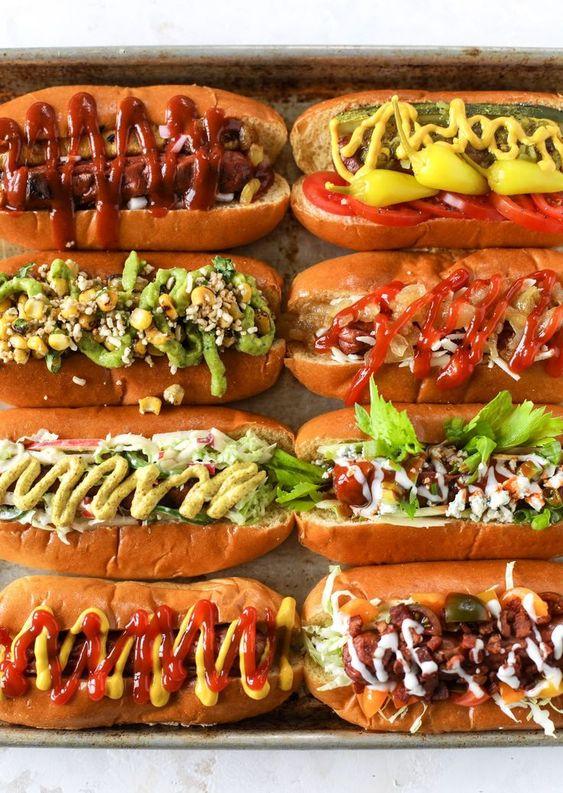 How to Make a Hot Dog Bar