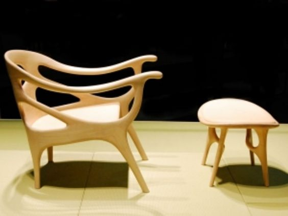 A beautiful chair.  French designer helle damkjær works.