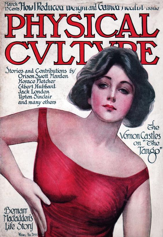 'Physical Culture' Magazine, 1910s.