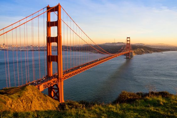 The Golden Gate Bridge is just beautiful and represents the elegant city of San Francisco.