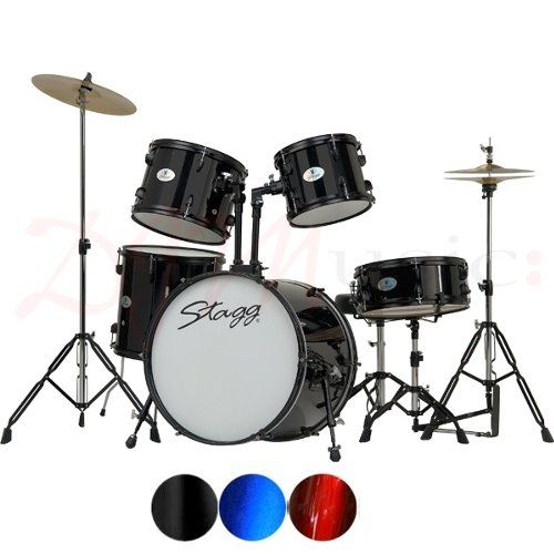 "Stagg 20"" Standard Full Size Drum Kits w/ Hardware"