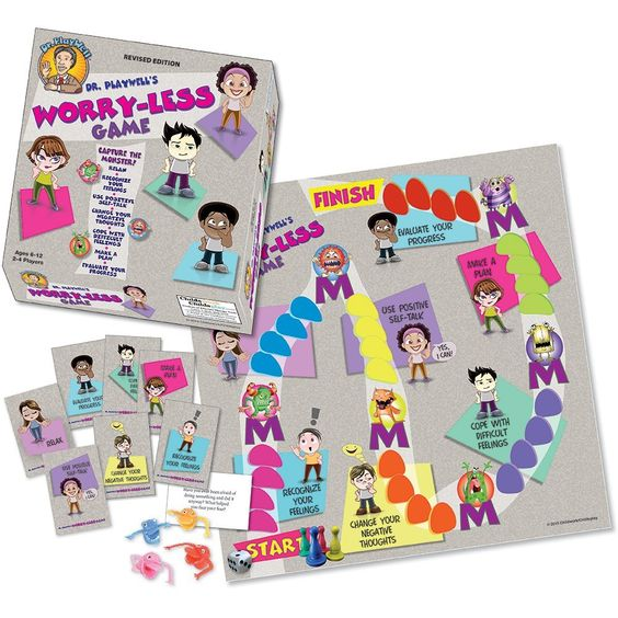 Amazon.com: Dr. Playwell's Worry-Less Game: Toys & Games: