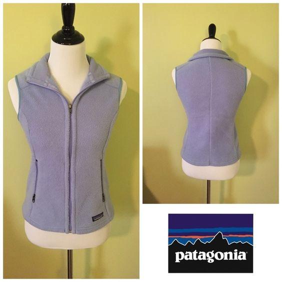 Light purple Patagonia vest women XS EUC Patagonia Jackets & Coats Vests