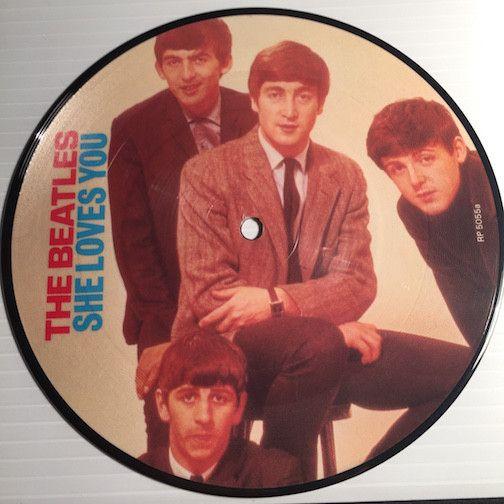 Beatles - She Loves You b/w I'll Get You - EMI #5055 - Colored vinyl - Rock n Roll