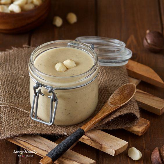 Homemade White Chocolate Macadamia Nut Butter Recipe (Paleo, gluten-free)