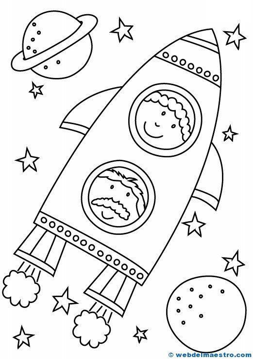Dibujos Para Colorear Web Del Maestro Dibujos Para Colorear Dibujos Del Espacio Preescolar Espacial