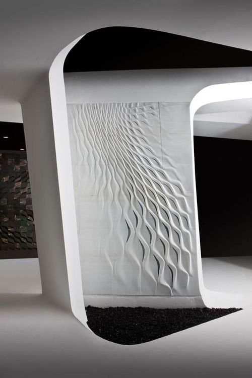 Zaha hadid wall art and art on pinterest for Parametric architecture zaha hadid
