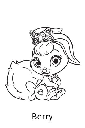Disney's Princess Palace Pets Free Coloring Pages and ...