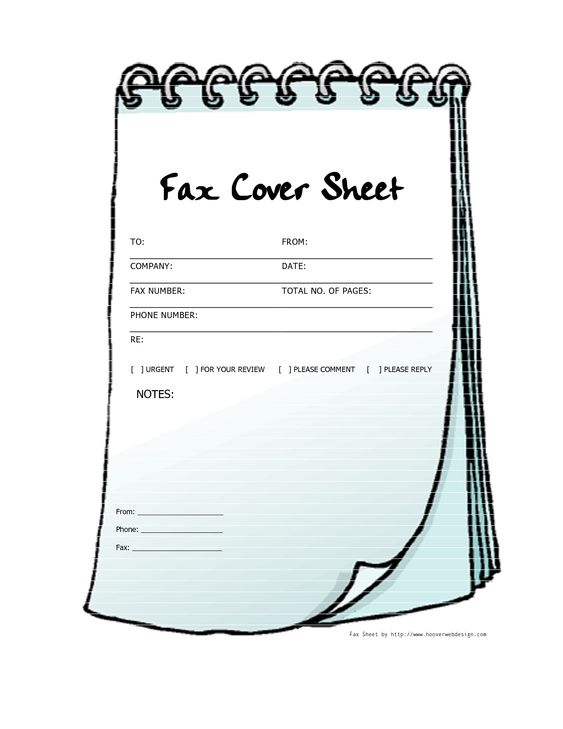 Square vertical letters design Free Printable Fax Cover Sheet - fax cover sheet free