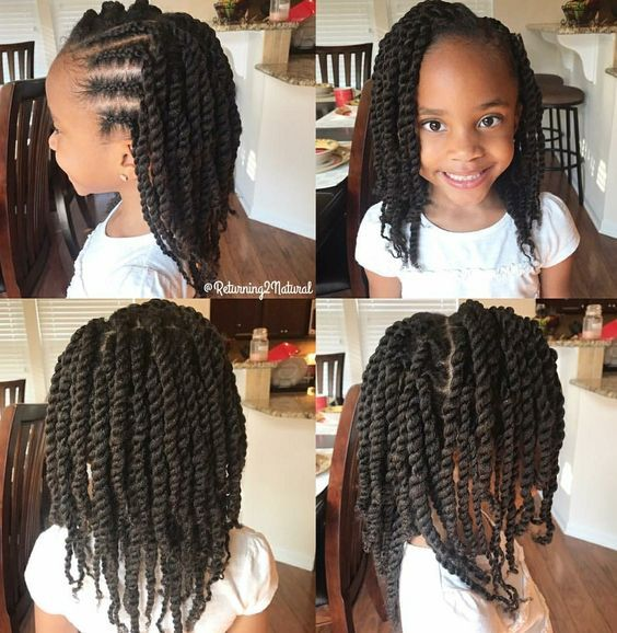 Easy Hairstyles For Girls 2hairstyle Kids Braided Hairstyles Lil Girl Hairstyles Girls Natural Hairstyles