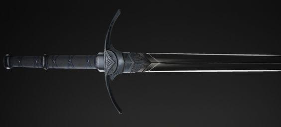 Sword, Dzmitry Doryn on ArtStation at https://www.artstation.com/artwork/kwxk6