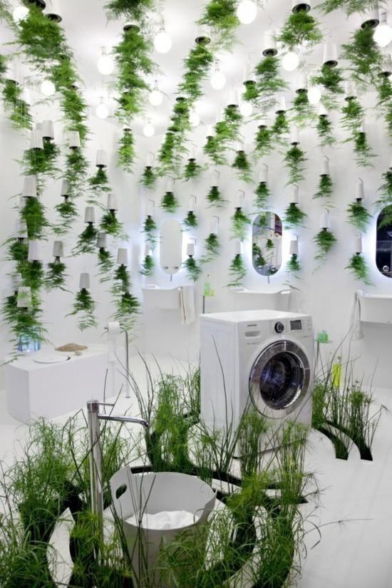 Mit Diesen Pflanzen Furs Bad Eine Tropische Wohlfuhloase Einrichten Badezimmerpflanzen Modernes Badezimmerdesign Pflanzen
