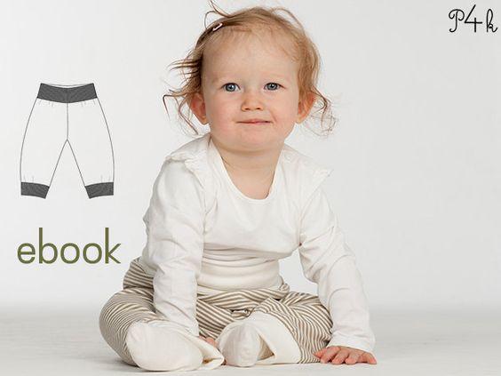 Baby Hose Modell Lucca (Schnittmuster E-Book).  Für Näheinsteigerinnen geeignet! Mit Foto Anleitung! Kinder, Junge, Strampler, Schnitt Baby von pattern4kids auf Etsy