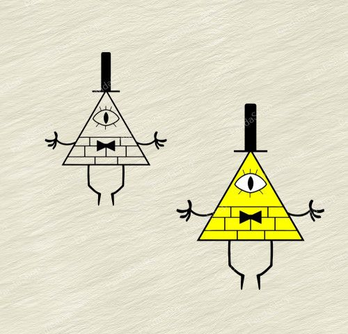 Bill Cipher Gravity Falls Svg Dxf Eps Png Cricut Clipart Clip Art Gravity Falls Cricut