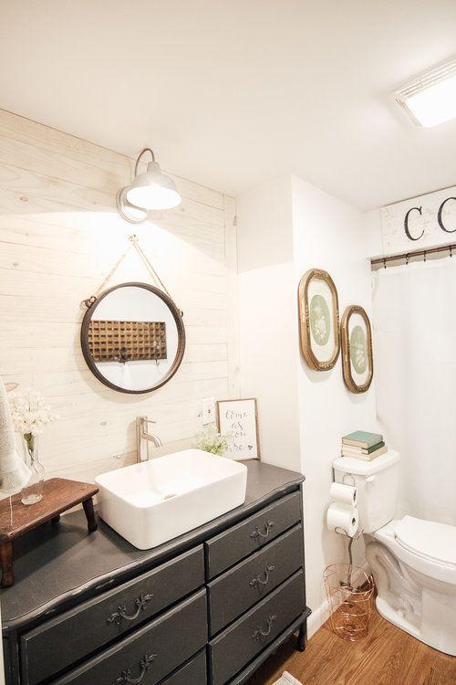Bathroom Decor Painted Vintage Vanity Dear Ivory Florida