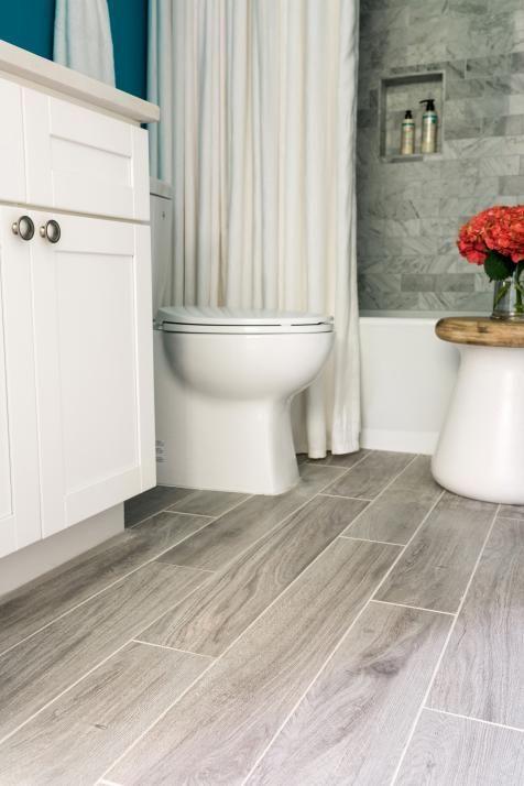 newly installed gray weathered wood plank tile flooring mudroom u0026 foyer ideas bathroom ideas mudroom u0026