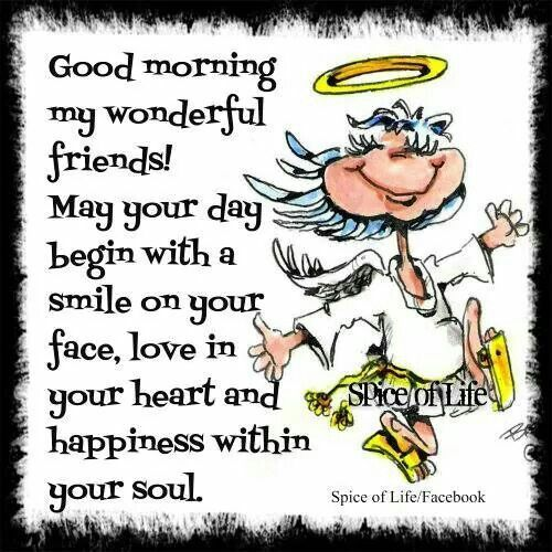 Good Morning All Friends Sms : Good morning friends quotes angel messages pinterest