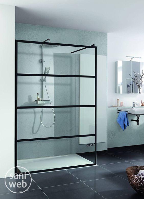 Glazen Douchewand 120x200.Hsk Walk In Pro Inloopdouche Loft 2 120x200 Cm Helder Glas