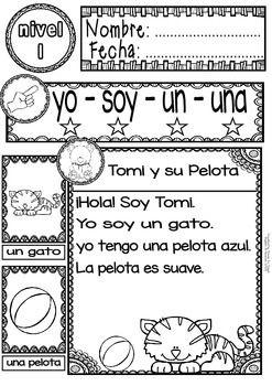 √ FREE SPANISH READING - GUIDED READING PASSAGES - LEVEL 1 FREE - TeachersPayTeachers.com
