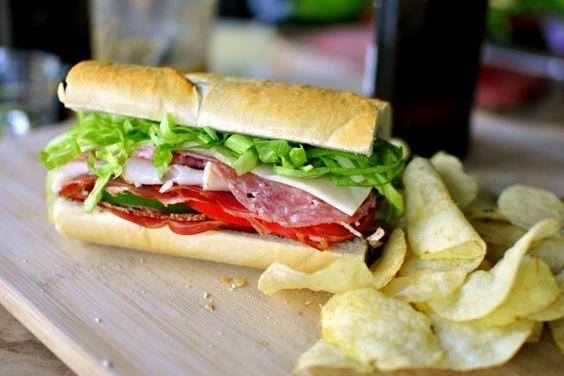 Italian sub, Italian and Sandwiches on Pinterest