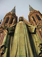 Heilig Hartbeeld Atelier Auguste Hermans Heuvelring #kerk #heilig #Tilburg #genietgroep