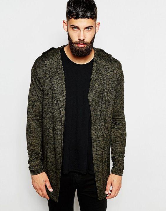 Hooded Lightweight Cardigan www.StyleLounge.de