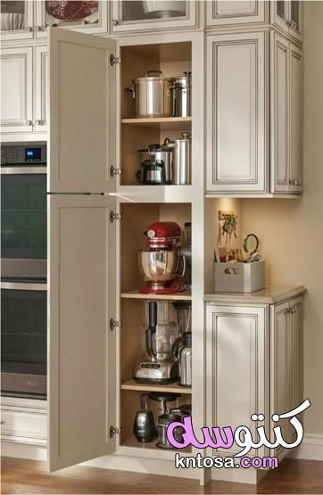 افكار مطابخ تقسيمات دولاب المطبخ من الداخل نصائح عند تصميم المطبخ Kitchen Design Home Decor Kitchen Rustic Farmhouse Kitchen