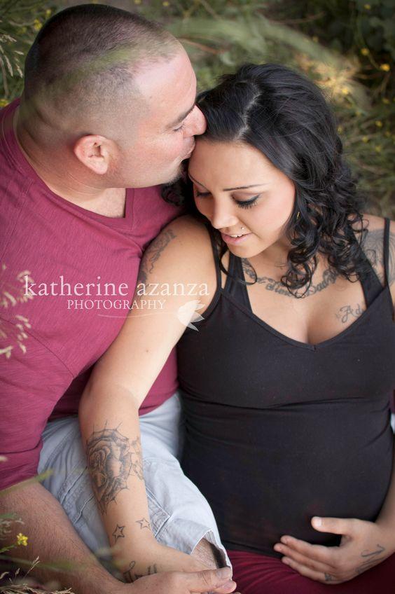 Katherine Azanza Photography ・ Sonoma County Maternity Session ・ Tattoos