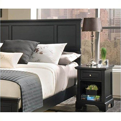 Special Offers - Home Styles 5531-5011 Bedford Queen Headboard and Nightstand Black Ebony Finish - In stock & Free Shipping. You can save more money! Check It (June 18 2016 at 12:22PM) >> http://adjustablebedusa.net/home-styles-5531-5011-bedford-queen-headboard-and-nightstand-black-ebony-finish/