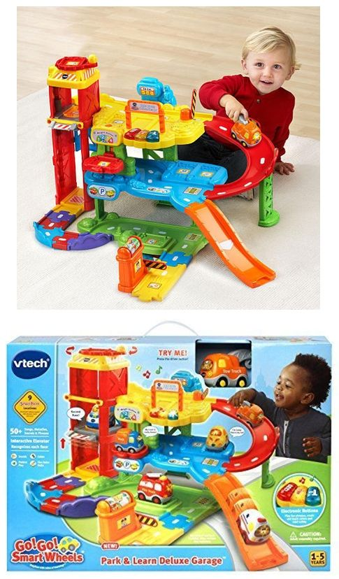 Vtech Go Go Smart Wheels Park Play Deluxe Garage Kids Toys Baby Girl Pjs Vtech