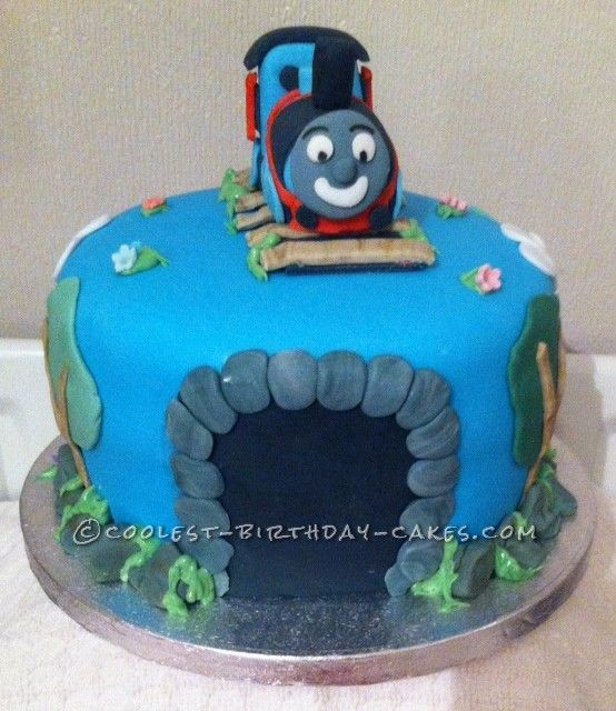 Coolest Thomas the Tank Cake...