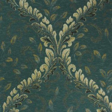 Tapete Barock türkis creme gold Tapeten Rasch Textil Angelica 005316 online bestellen