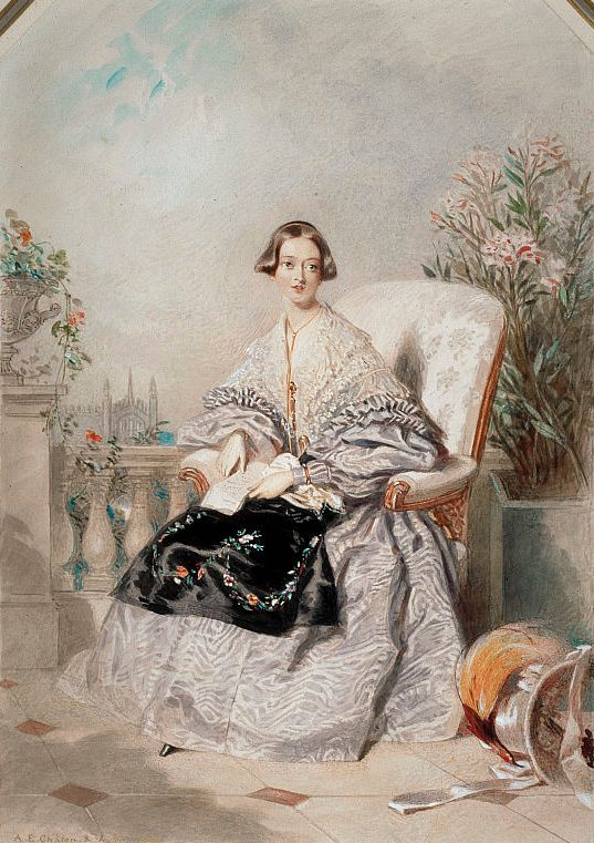 1838 Queen Victoria by Alfred Edward Chalon (National Galleries of Scotland, Edinburgh):
