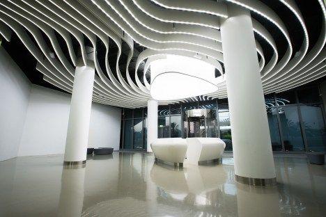 Khalifa University Extension By Umaya Lighting Rsp Architects Elite Design Engineering Consultancy Rsp Architects Engineering Design University Extension