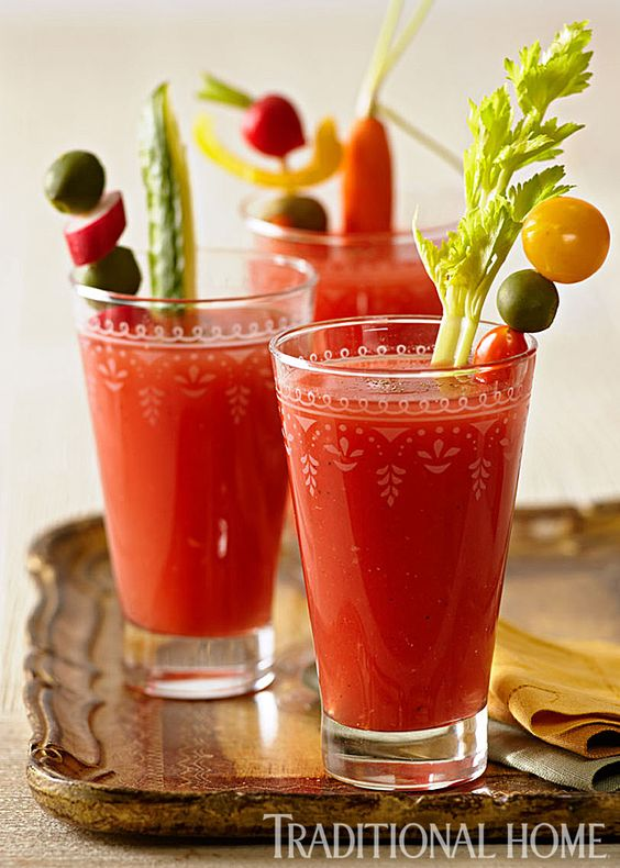 Bloody mary, Bloody mary mix and Tomatoes on Pinterest