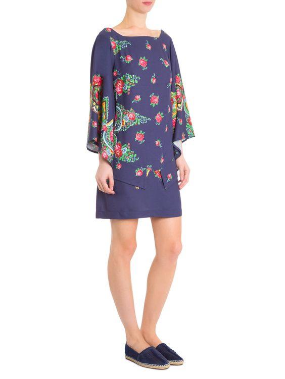 Vestido Curto - Farm - Azul - Shop2gether