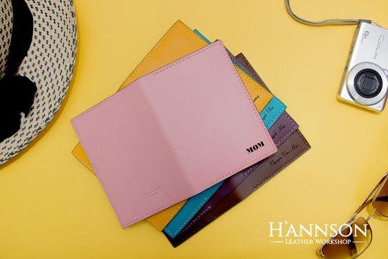 Handstitched Personalised Leather Passport Holder, Traveller Documents Holder…