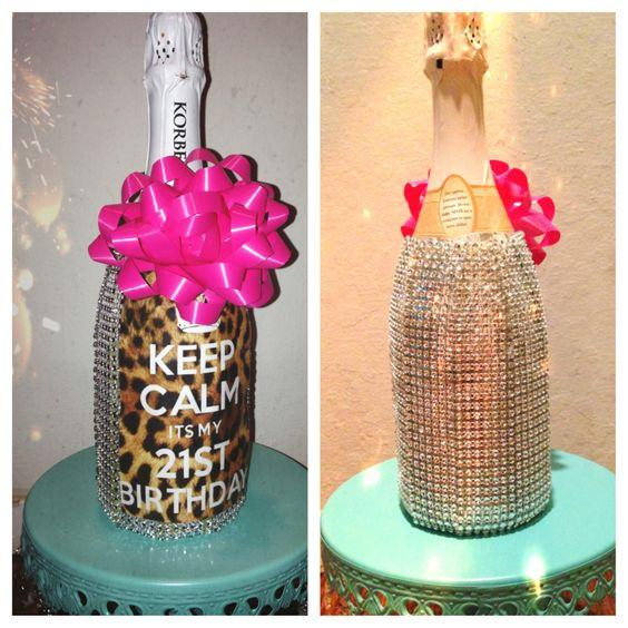 Cute 21st Birthday Gift DYI Crafts Birthdays
