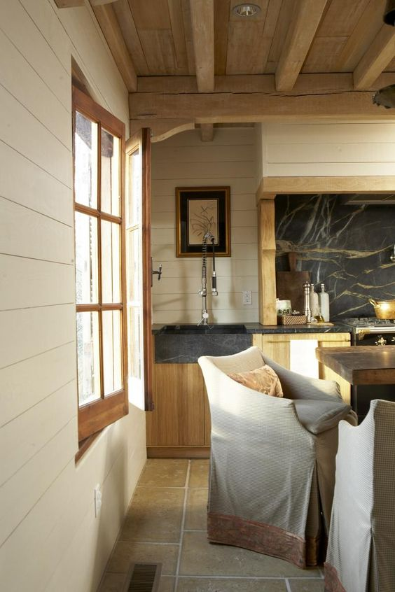 Kitchen So Inviting The Lee Industries Chairs Add Warmth And