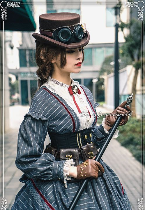 Lolita steampunk girl