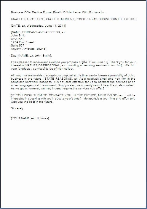 Request For Proposal Rejection Letter Lovely Business Proposal Rejection Letter Simple Cover Letter Template Lettering Professional Cover Letter Template Request for proposal rejection letter