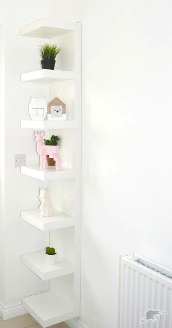 Lack Wall Shelf Unit White 11 3 4x74 3 4 In 2020 Ikea Lack Shelves Ikea Wall Shelves Shelves