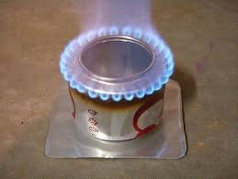Quieres Cocinar Sin Gas Y Sin Electricidad Youtube Estufa Latas De Refresco Estufa Portátil